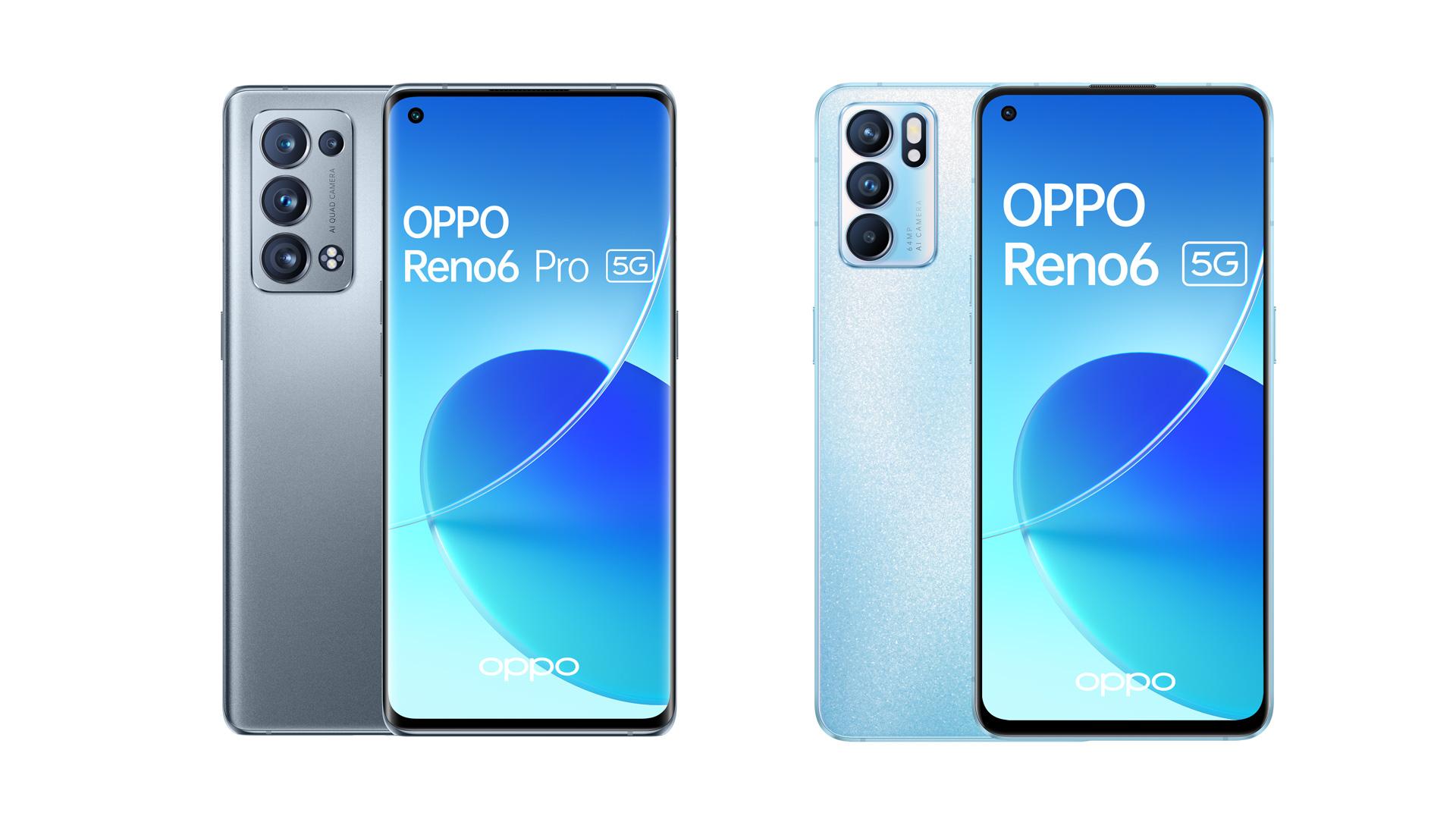 Bienvenue aux nouveaux OPPO Reno6 5G et OPPO Reno6 Pro 5G !